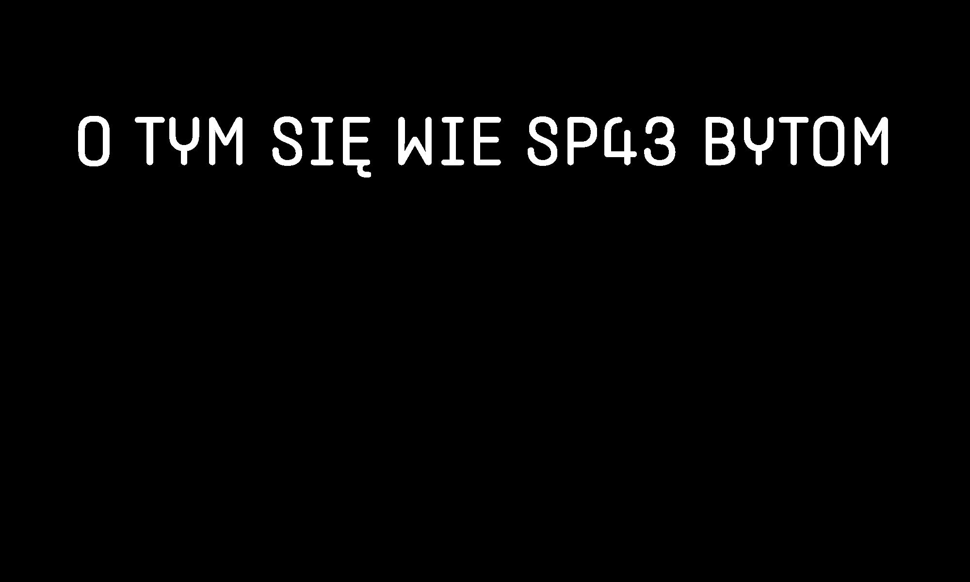 Sp43 Bytom – Konkurs 2021