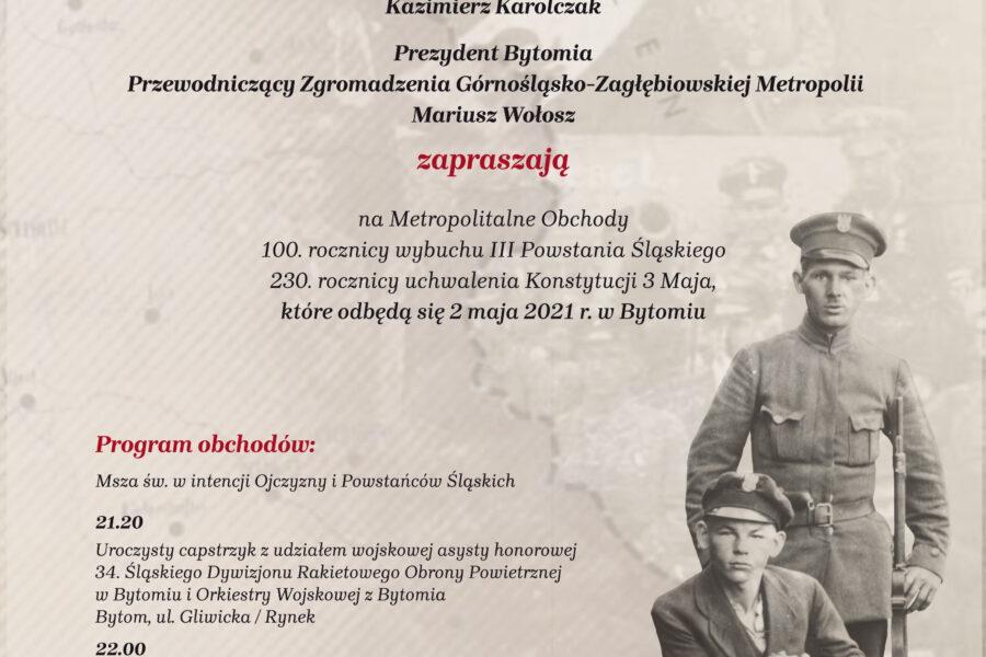 100-lecie III Powstania Śląskiego